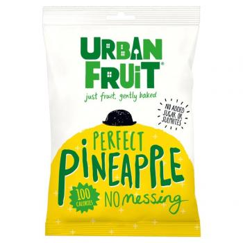 Urban fruit, felii de ananas uscat 35 gr UNICORN NATURALS