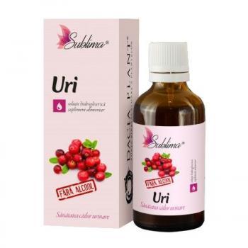 Uri cu glicerina 50 ml SUBLIMA