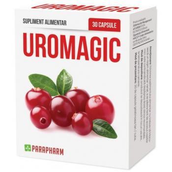 Uromagic cu extract de merisor 30 cps PARAPHARM