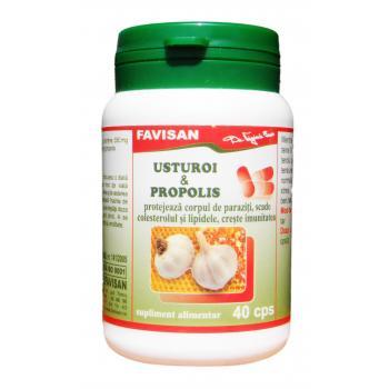 Usturoi & propolis b061 40 cps FAVISAN