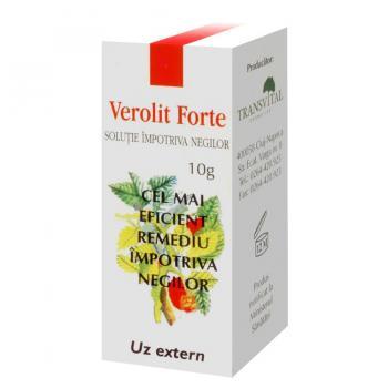 Verolit forte-solutie impotriva negilor 5 ml TRANSVITAL