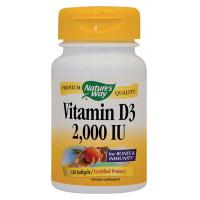 Vitamin d3 2000ui NATURES WAY