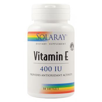 Vitamin e 400ui 50 cps SOLARAY