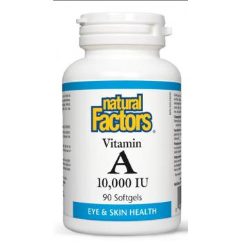 Vitamina a 10000 ui  90 cps NATURAL FACTORS