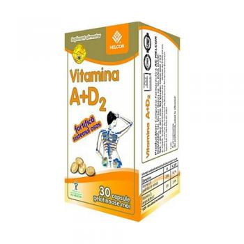 Vitamina a + d2, fortifica sistemul osos 30 cps BIO SUN LINE
