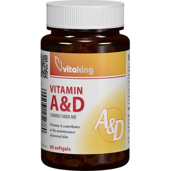 Vitamina a&d 60 cps VITAKING