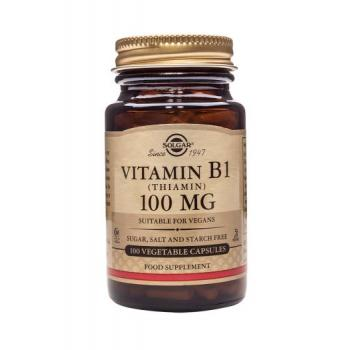 Vitamina b1 (tiamina) 100 mg 100 cps SOLGAR