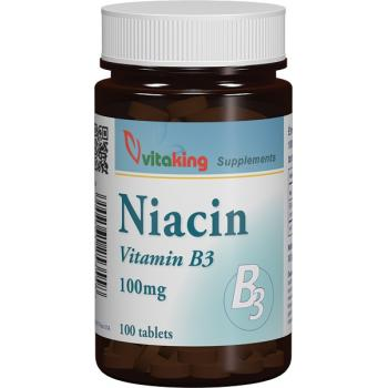 Vitamina b3 100mg 100 cpr VITAKING