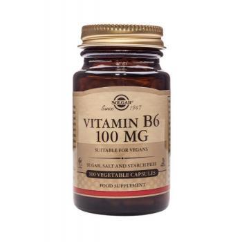 Vitamina b6 100 mg 100 cps SOLGAR