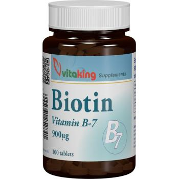 Vitamina b7 900mcg 100 cpr VITAKING