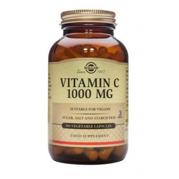 Vitamina c 1000 mg 100 cps SOLGAR