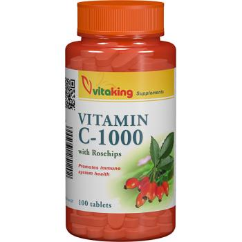 Vitamina c 1000mg cu macese 100 cpr VITAKING