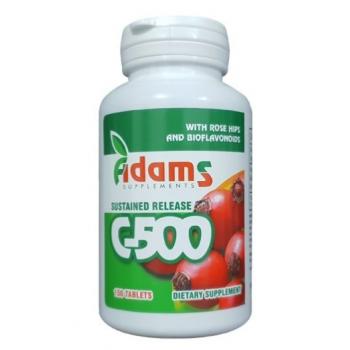 Vitamina C-500 macese  150 cpr ADAMS SUPPLEMENTS