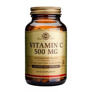 Vitamina c 500 mg 100 cps SOLGAR