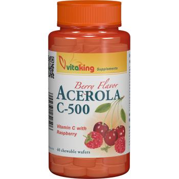 Vitamina c 500mg cu acerola 40 cpr VITAKING