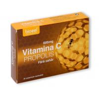 Vitamina c 600 mg cu propolis