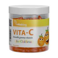 Vitamina c 80mg pt.copii-jeleuri gumate