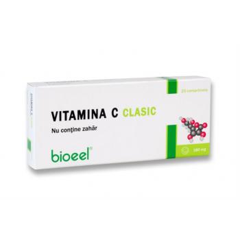 Vitamina c 180 mg clasic, fara zahar 20 cpr BIOEEL