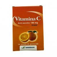 Vitamina c cu aroma de portocale