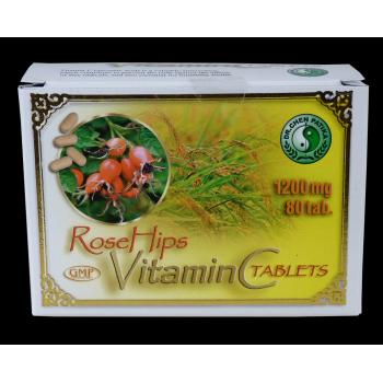 Vitamina c + extract de macese  80 cps MIXT COM