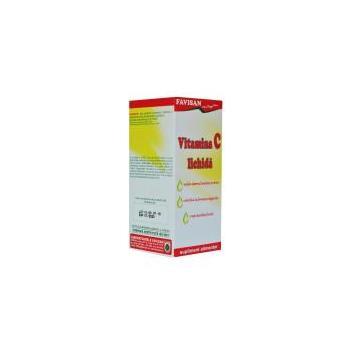 Vitamina c lichida 100 ml FAVISAN