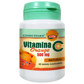 Vitamina c orange 60 tbl COSMOPHARM