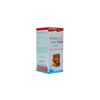 Vitamina c pentru copii sirop  100 ml FAVISAN