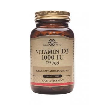 Vitamina d3 1000 iu 100 cps SOLGAR