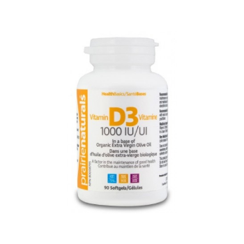 Vitamina d3 1000 ui 90 cps ORGANIKA