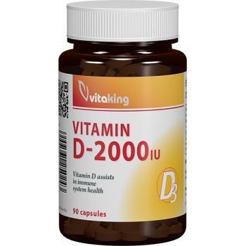 Vitamina d3 2000ui-masticabila 90 cpr VITAKING