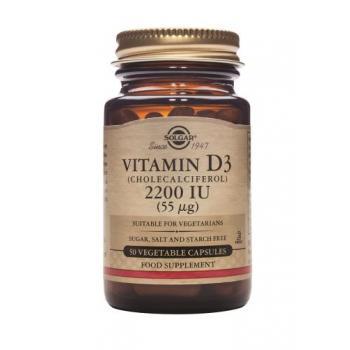 Vitamina d3 2200 iu 50 cps SOLGAR