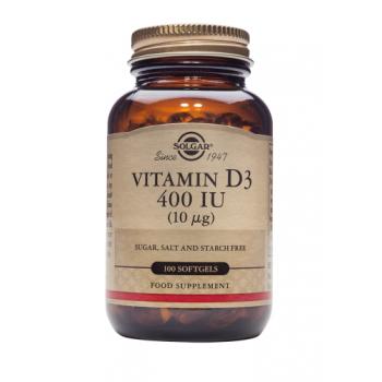 Vitamina d3 400 iu 100 cps SOLGAR