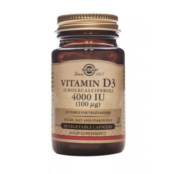Vitamina d3 4000 iu 60 cps SOLGAR