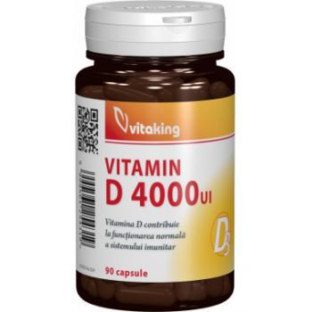 Vitamina d4000ui  90 cps VITAKING