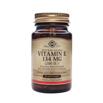 Vitamina e 134 mg (200 iu) 50 cps SOLGAR