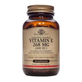 Vitamina e 268 mg (400 iu) 50 cps SOLGAR