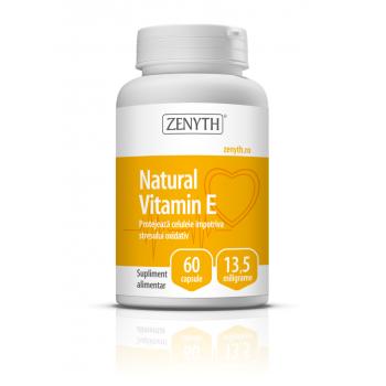Vitamina e naturala 60 cps ZENYTH
