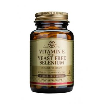 Vitamina e + selenium 50 cps SOLGAR