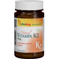 Vitamina k2 naturala 30cps VITAKING