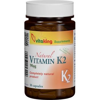 Vitamina k2 naturala 30 cps VITAKING