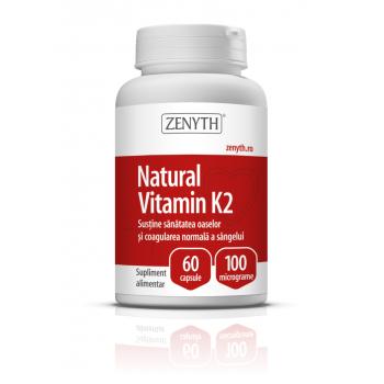 Vitamina naturala k2 60 cps ZENYTH