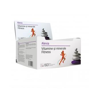 Vitamine si minerale fitness 60 pl ALEVIA