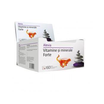 Vitamine si minerale forte 60 pl ALEVIA