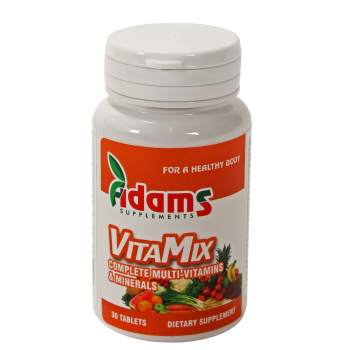 Vitamix, complex de multivitamine si minerale 30 tbl ADAMS SUPPLEMENTS