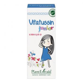 Vitatussin junior 125 ml PLANTEXTRAKT