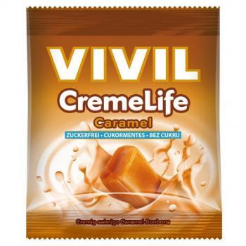 Vivil creme life caramel fara zahar  60 gr VIVIL