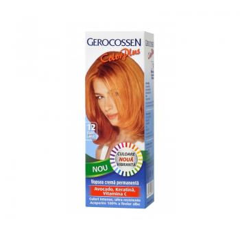Vopsea de par color plus -12 blond coniac 50 gr GEROCOSSEN