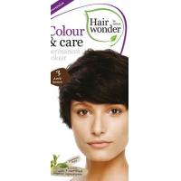 Vopsea permanenta fara amoniac, Colour & Care, 3 Dark Brown, Hairwonder