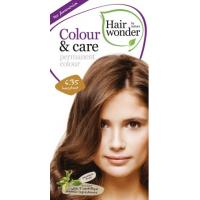 Vopsea permanenta fara amoniac, colour & care, 6.35 hazelnut, hairwonder