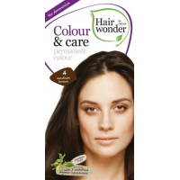Vopsea permanenta fara amoniac, colour & care, 4 medium brown, hairwonder